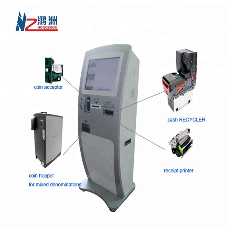 Self Service ATM Kiosk Machine for Withdrawal of Digital Currency Bill Dispenser and Exchange
