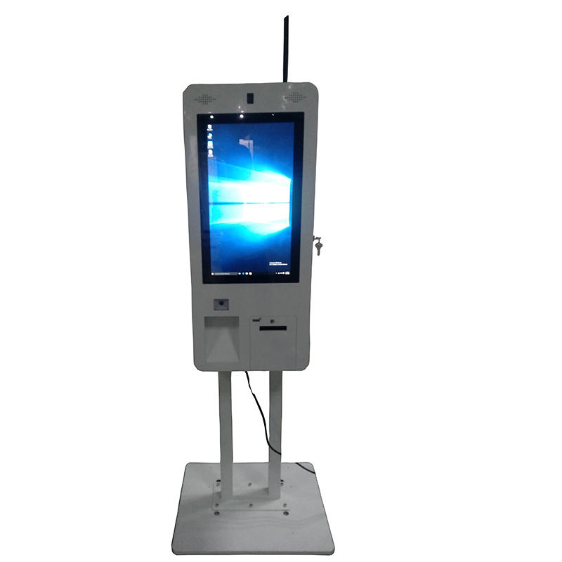 all-in-one standing custom-made touchscreen size digital signage restaurant kiosk