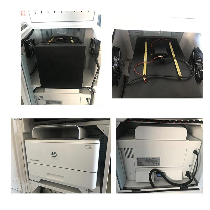 High quality self service printer kiosk in government with A3 and A4 size