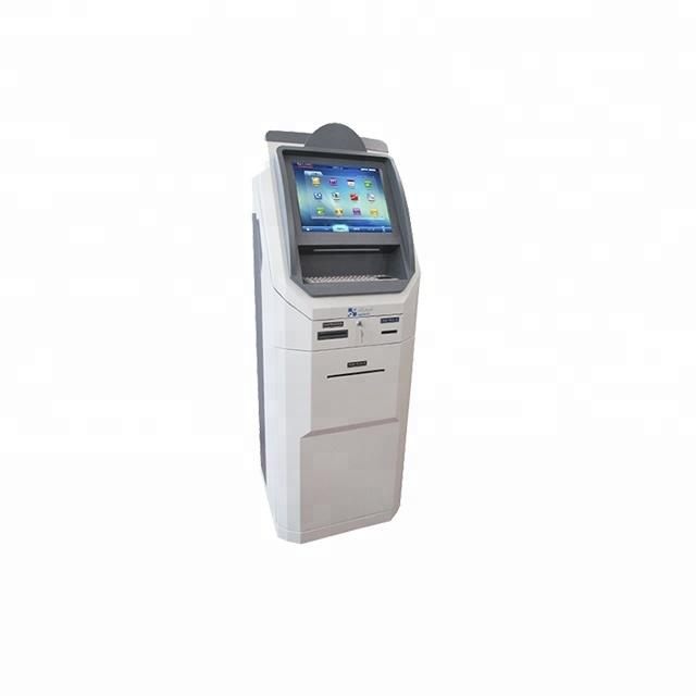 19 Inch Touch Screen ATM Machine Kiosk With Credit Card Reader