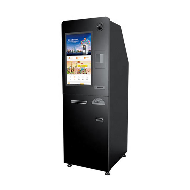 19inch Floor Stand Touch Screen Self Service Vending Machine Card Dispenser Kiosk