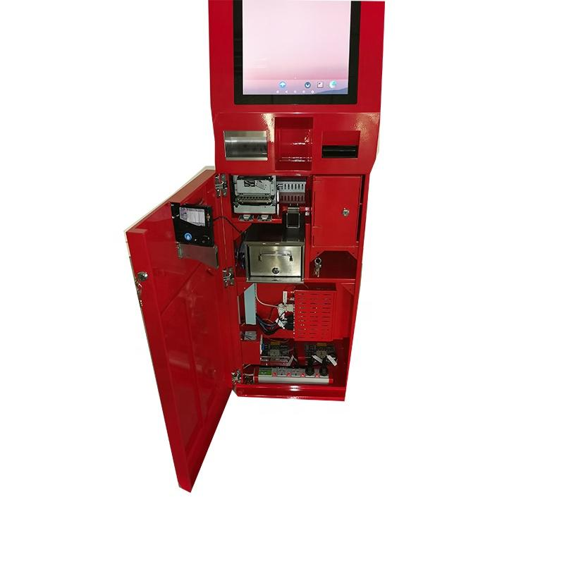 Android Payment System Self Ordering Kiosk With Cash Dispenser