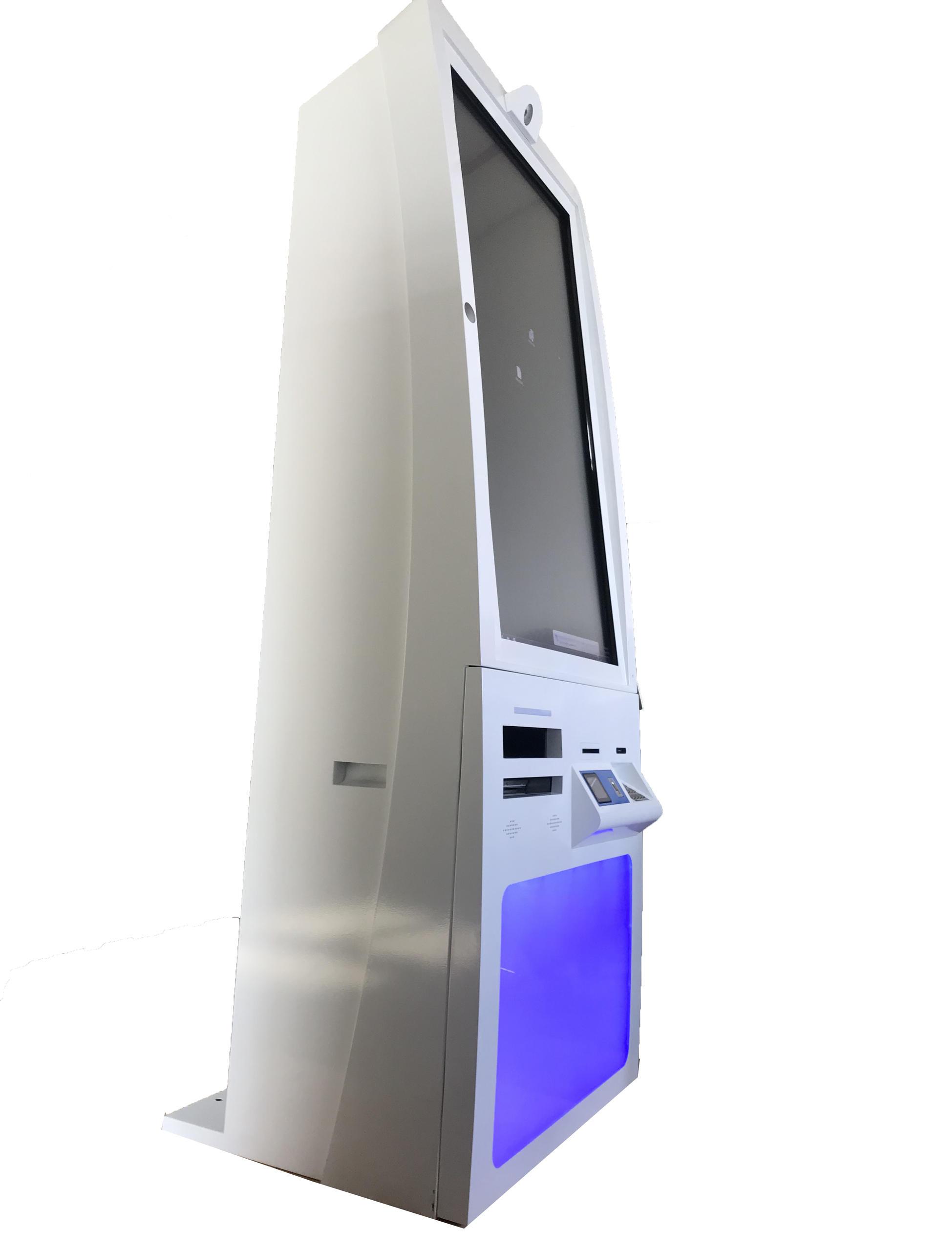 Customized Self Service Report Printing kiosk With Printer