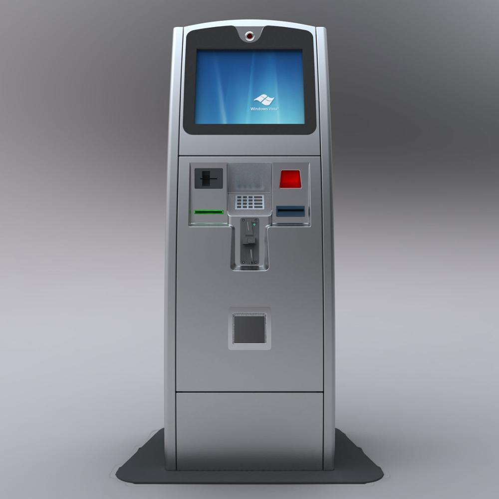Bank Machine ATM LKS Free Floor Standing Bank ATM Machine