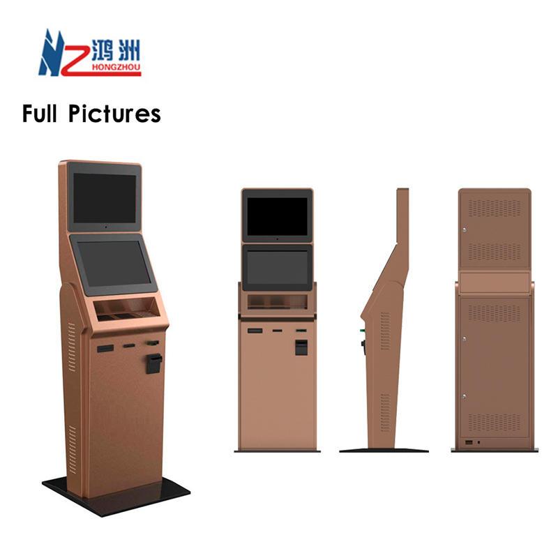 Factory Price Multifunctional ATM Machine Barcode Scanner Kiosk