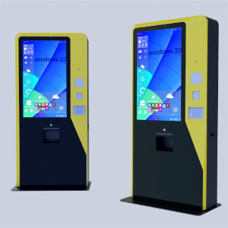 standing and smart scenic area self service kiosk