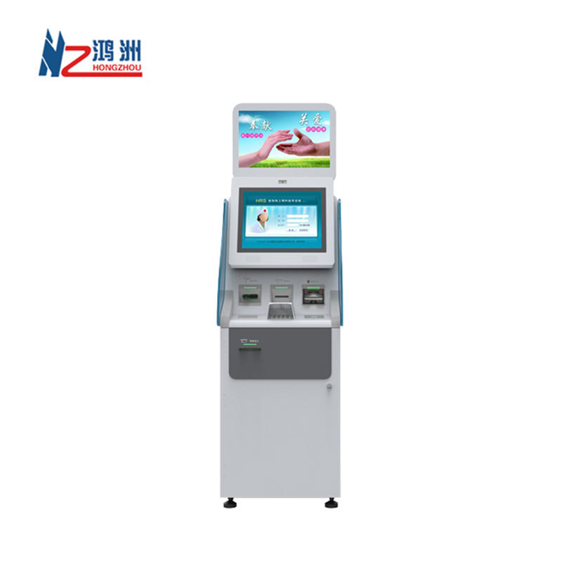 OEM ODM Self service cash exchange ATMkiosk machinewith cash in and cash dispenser function