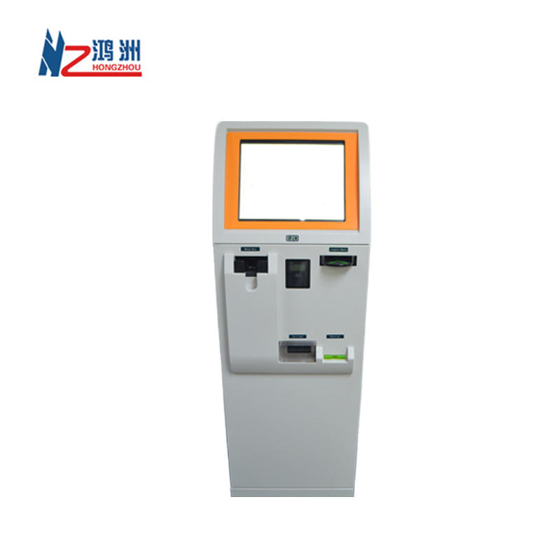 WIFI touch screen bill payment kiosk terminal with printer