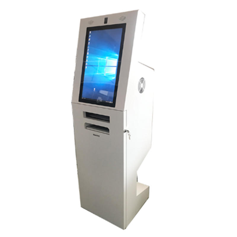 upright smart digital signage self service menu order kiosk with receipt printing furnction 16 yeas professional experiences