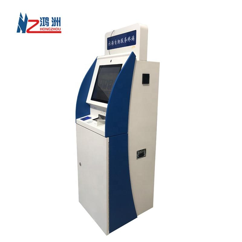Touch Screen Kiosk Automatic Payment Machine for Bank