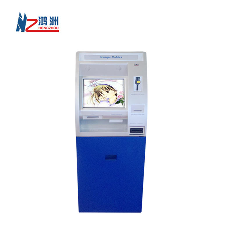 Multifunction touch screen atm kiosk ATM machines for hospital
