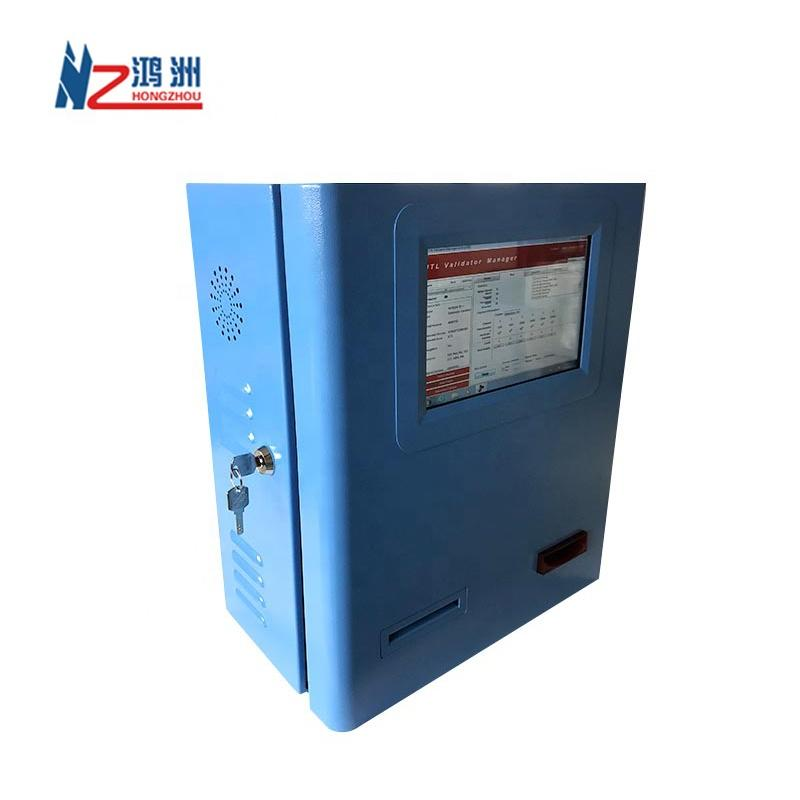 15 inch wall mounted kiosk for cash dispenser used in parking lot