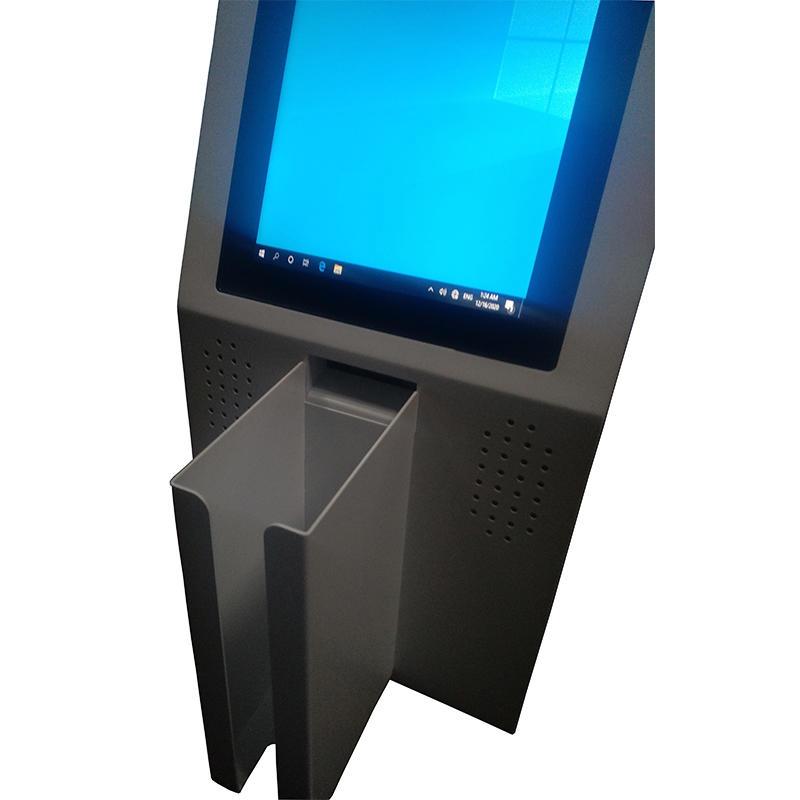 desktop card distribution kiosk for floating population management