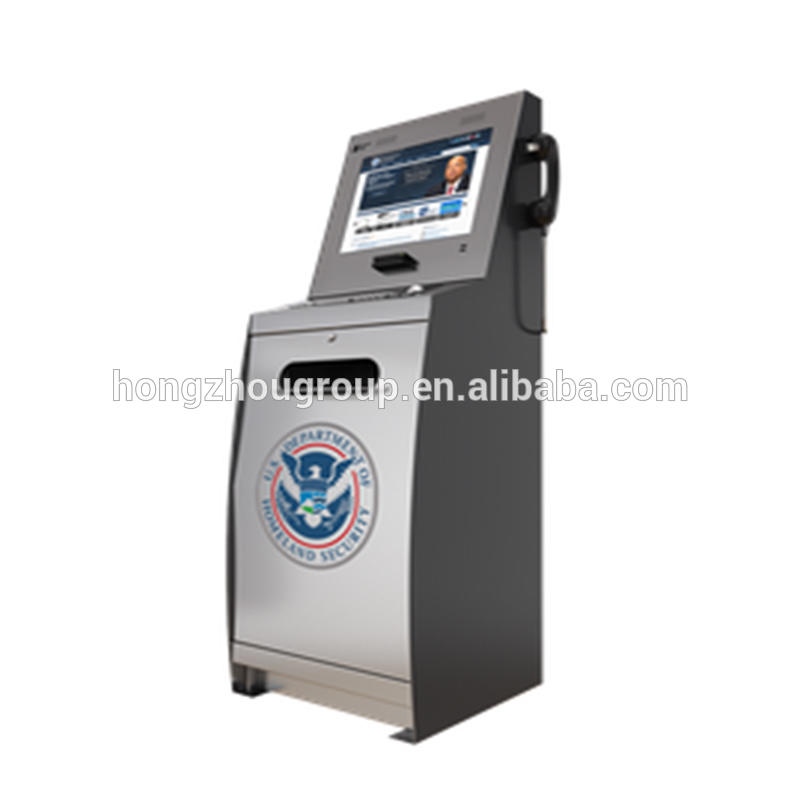 auto getting report document inveoice receipt kiosk