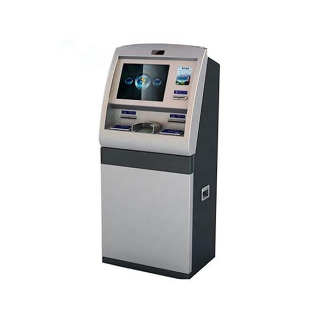 Self service check in hotel ordering ticket printer kiosk touch hotel key card dispenser kiosk