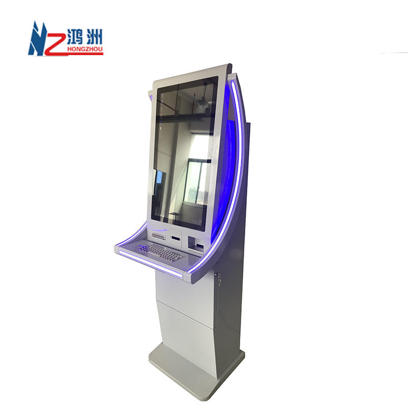 Self Service Sim Card Dispenser Machine Bill Payment Kiosk For Telcom