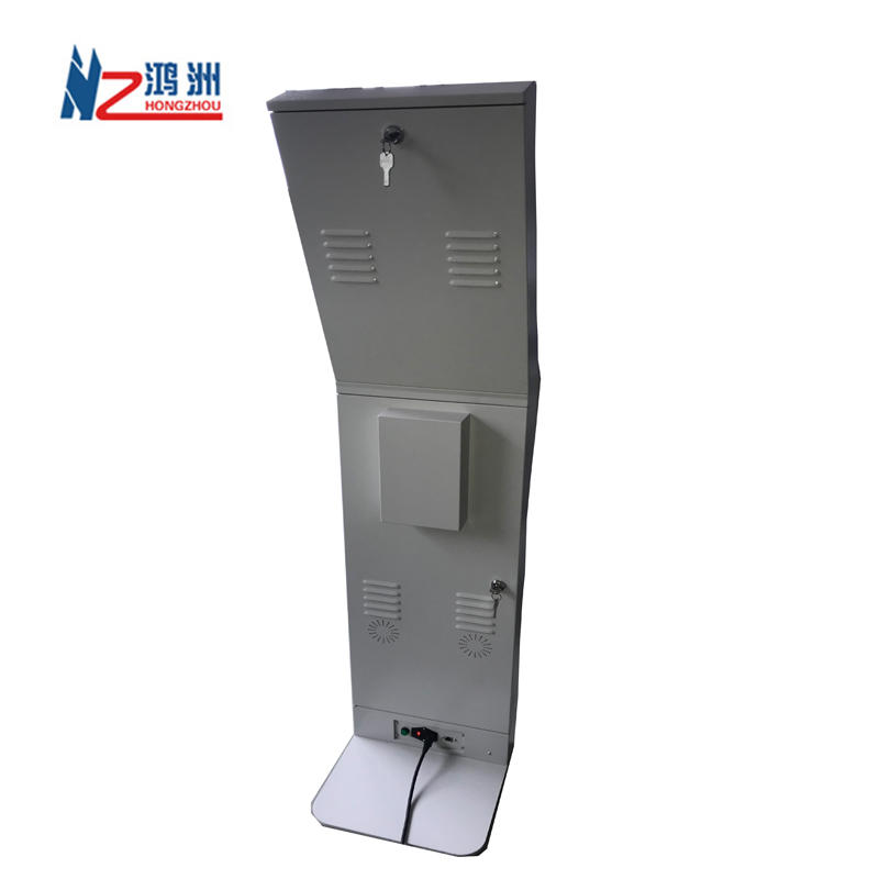 Cheap LCD Display touch screen self information kiosk with printer