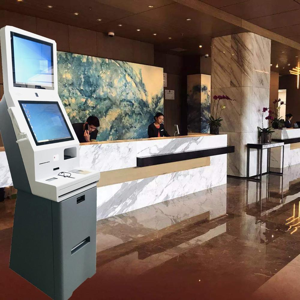 21.5 inch Smart Hotel Check-in and check-out kiosk
