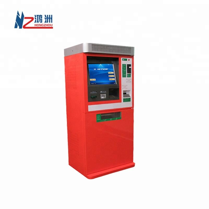 Customized ATM payment solution Touch panel self service machine automatic printer cash/bill acceptor pay LCD kiosk