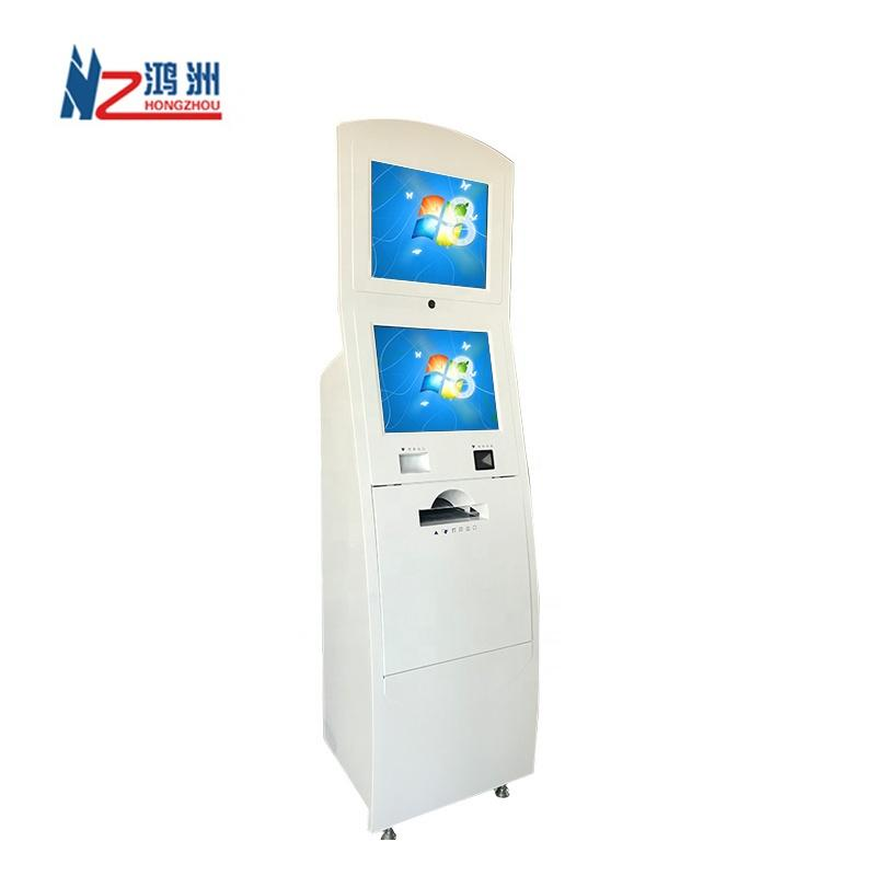 Good design self printer kiosk for line up in hospital with printer function