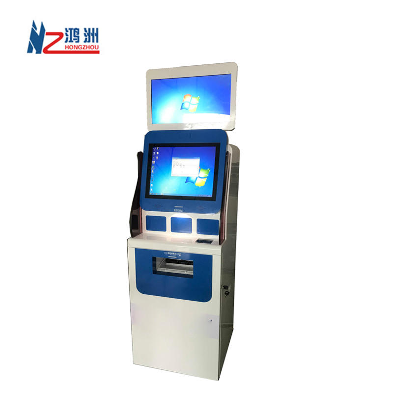 19 Inch Healthcare Bill Payment Kiosk with Medical report printer and card reader