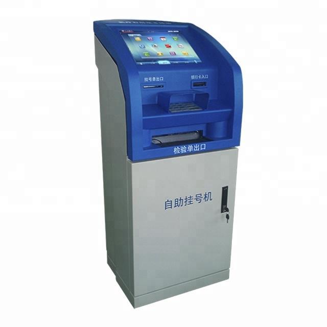 Self Service Deposit Withdraw Cash Bank Screen Kiosk China Manufacturer Wireless ATM Machines