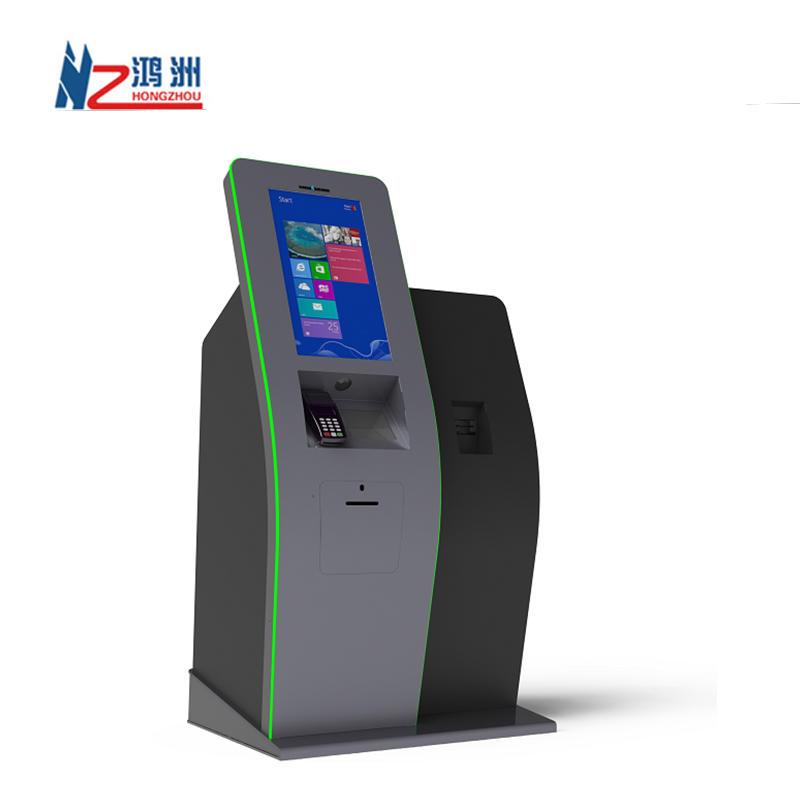 Self Service Cash Register Ordering Payment Kiosk In Restaurant