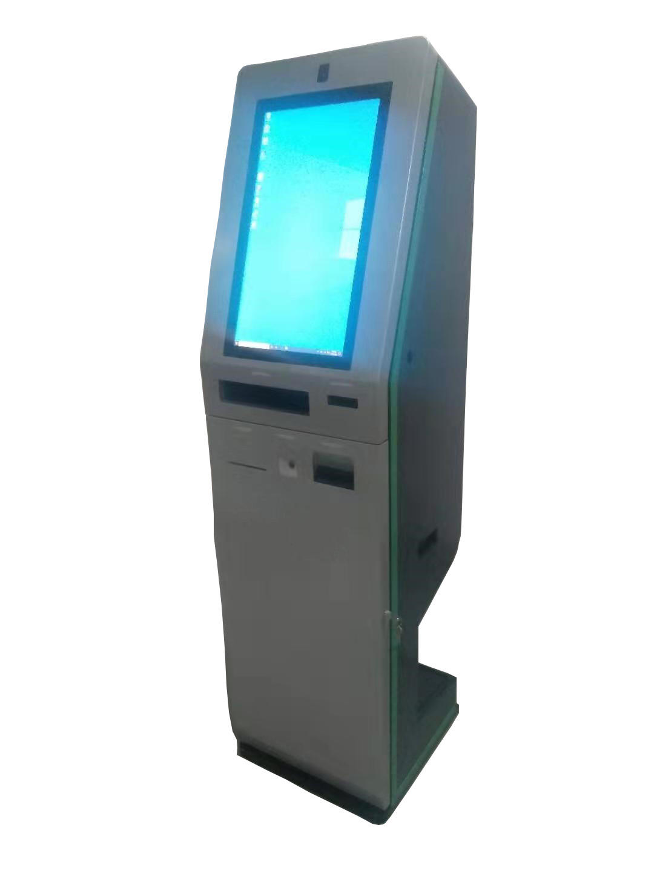 standing ticket printing vending Kiosk