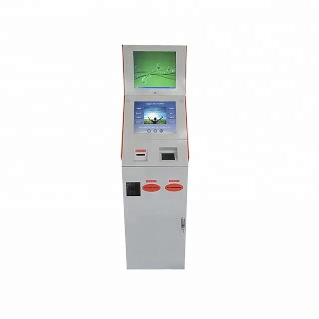 Touch Screen Self-service Library Kiosk With Windows OS System