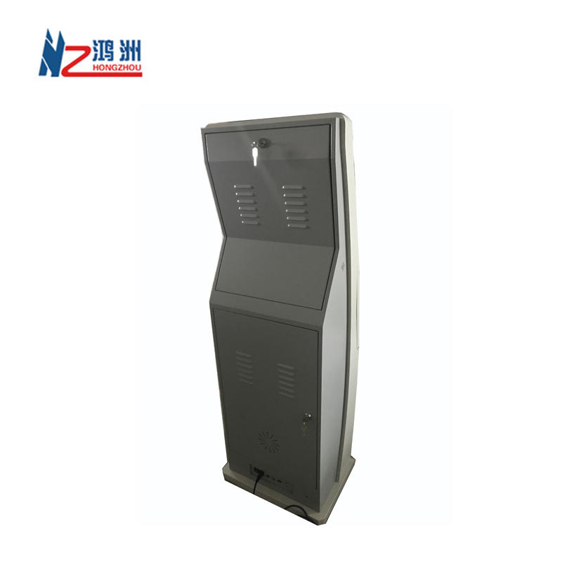 Hotel check in self service kiosk with thermal printer and camera parts