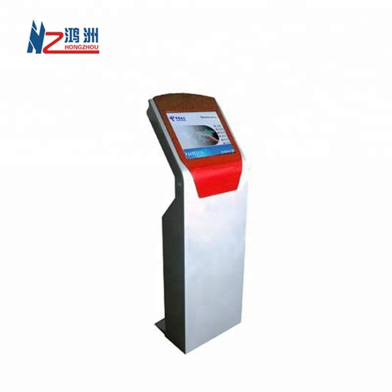 Bill payment cash acceptor recycler kiosk with barcode scanner