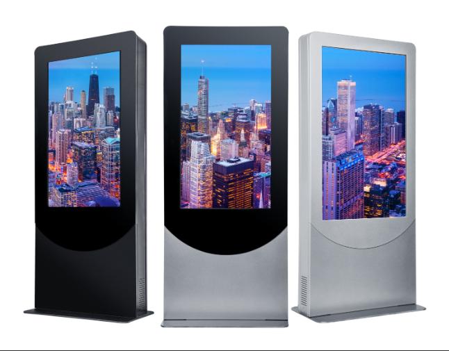 standing information display kiosk smart advertising kiosk