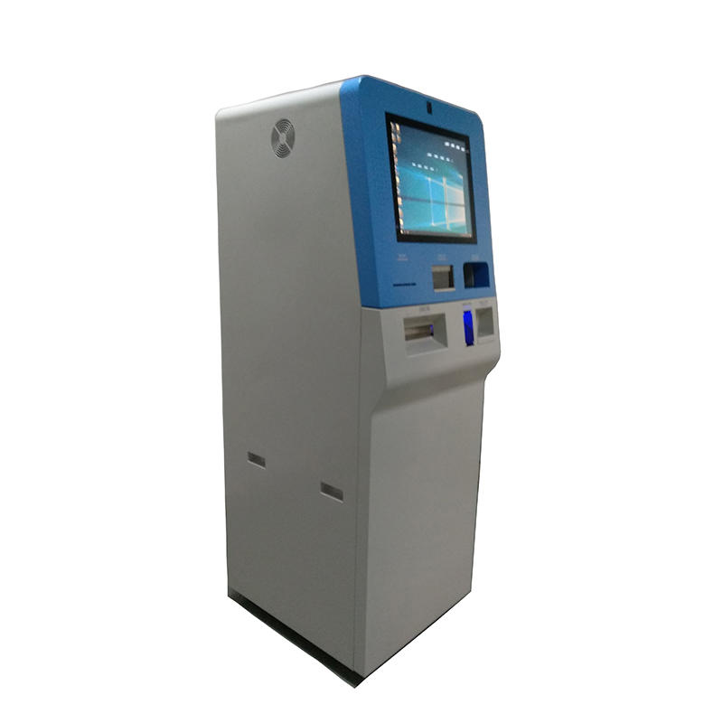 elegant foreign currency exchange kiosk with 19 inch touch screen