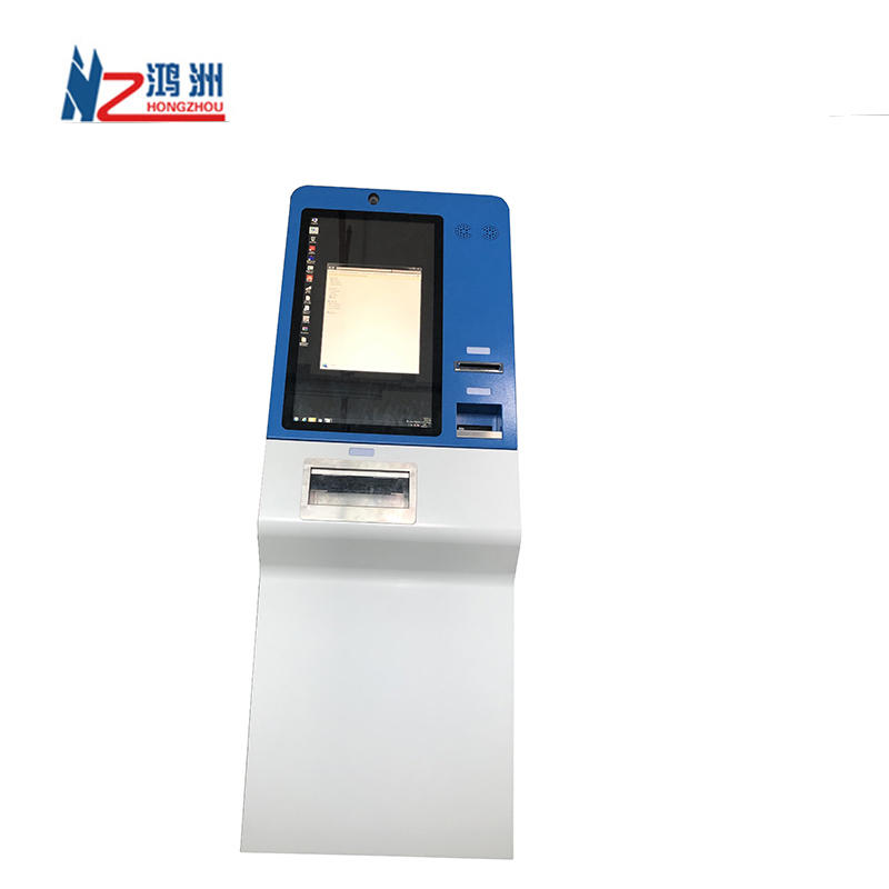 Manufacturer Self Service Bank Kiosk With Cash Acceptor And Cash Dispenser cash Exchange Machine