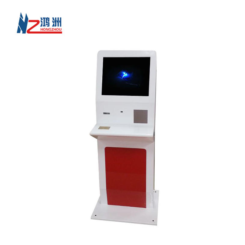 Indoor free standing parking kiosk machine for mall vending use