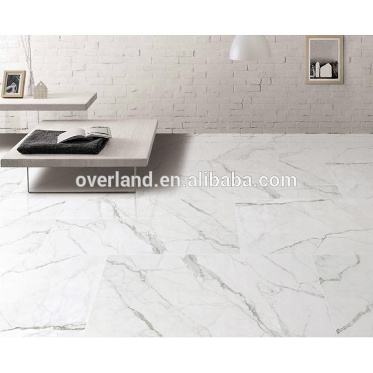 Super glossy off white ceramic tile