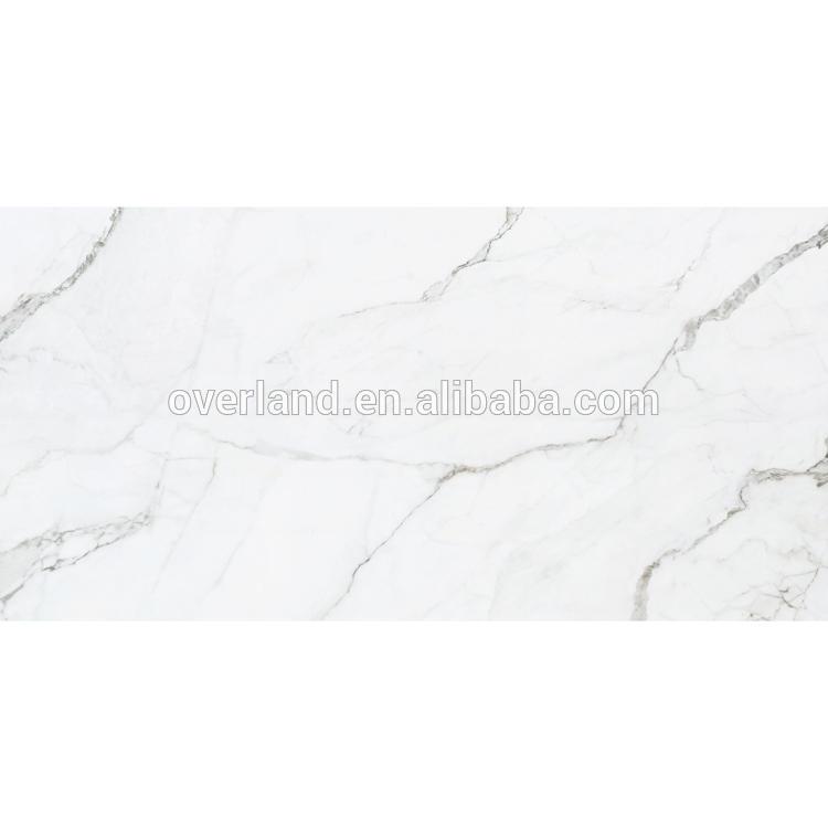 Glazed ceramic white subway tile