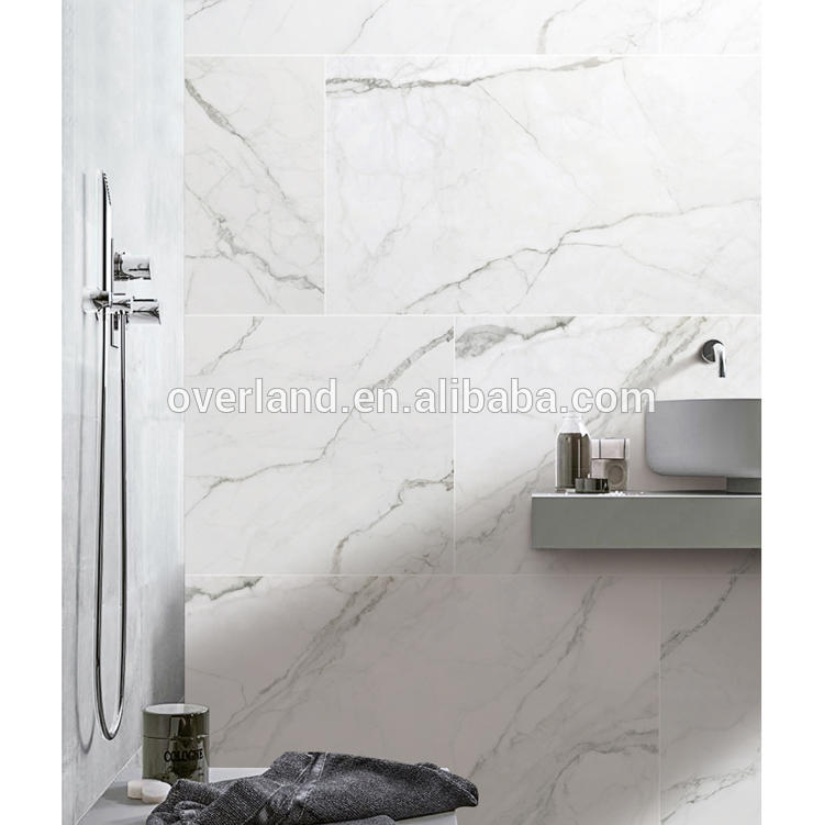 Statuario White wall tiles bathroom
