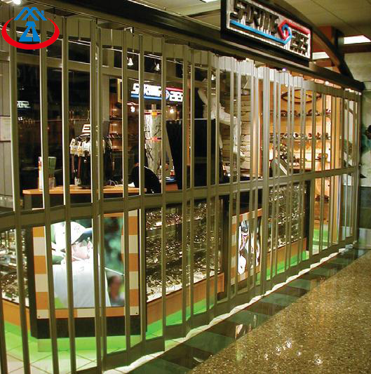 Transparency Over 80% Be 24th Window Display Clear Polycarbonate Folding Door