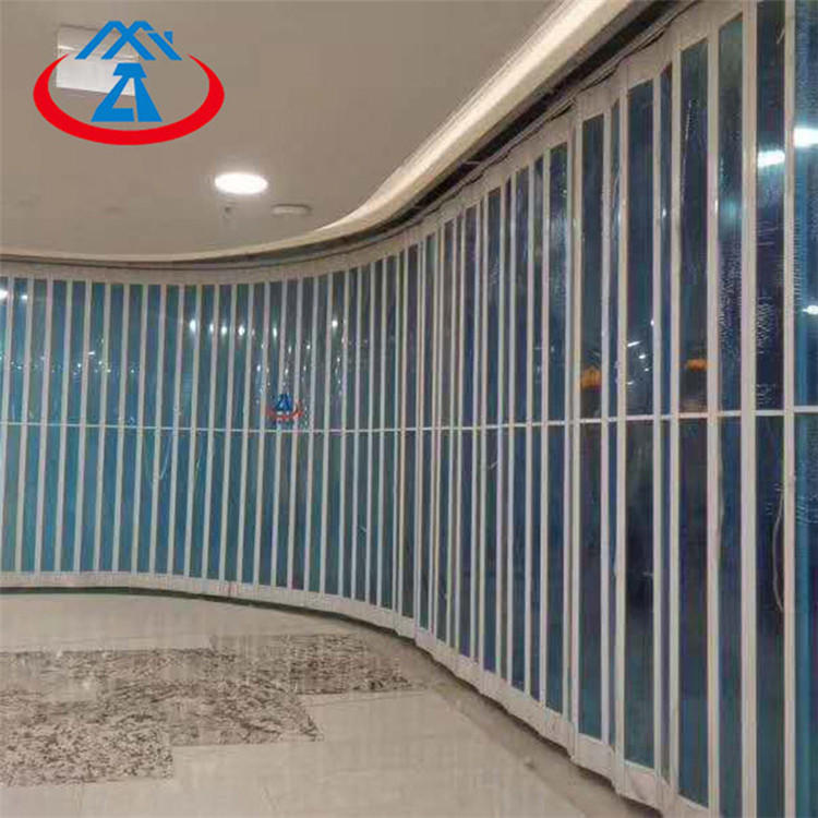 Excellent Quality Clear Horizontal Transparent Folding Door Free N95 Mask