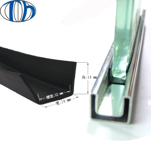 epdm neoprene pvc plastic silicone various glass doorcar doors hinge rubber sealing strip