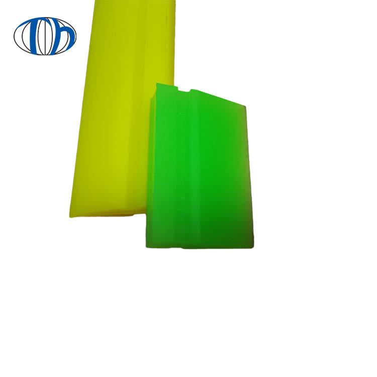 Polyurethane ceramicSqueegeeBlade withPlastic Handlefor Screen printing industry