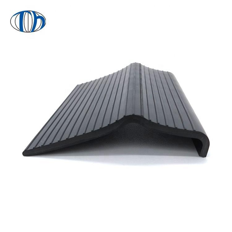 taihai supply v shape waterproof pvc plastic edge cover strip rubber edge protection strip