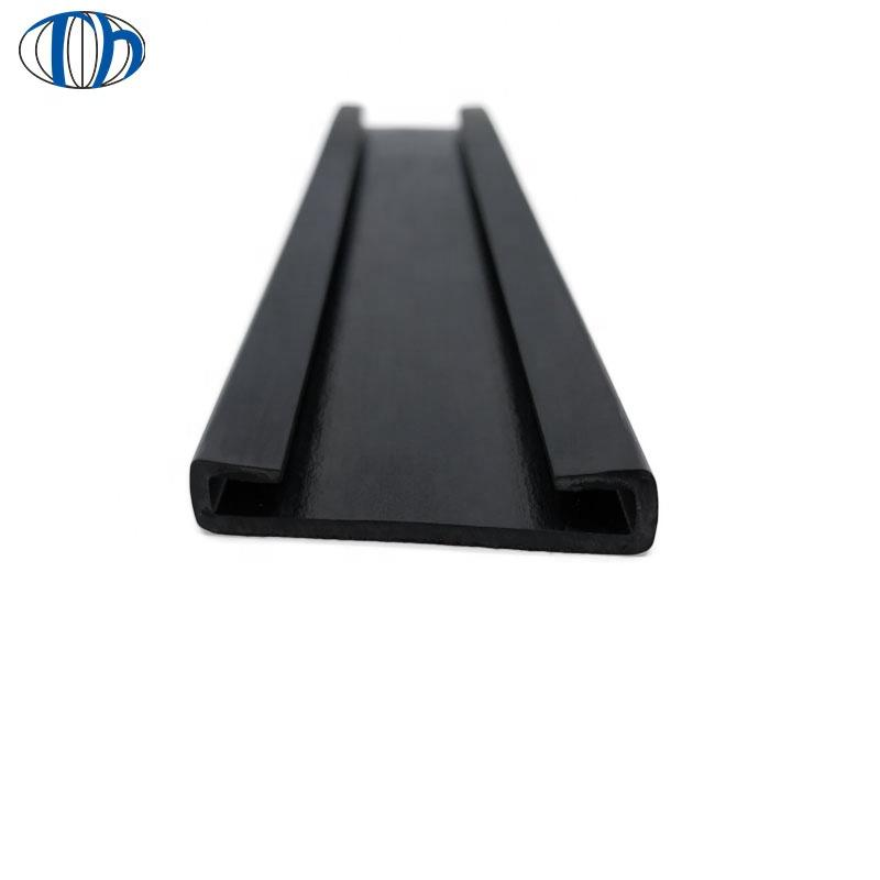 pvc plastic rubber edging for sheet metal seal strip rubber edge protection strip