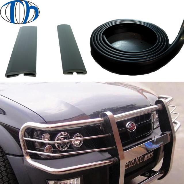 PVC Auto guard plastic rubberbumperstrip car bumper protector strips