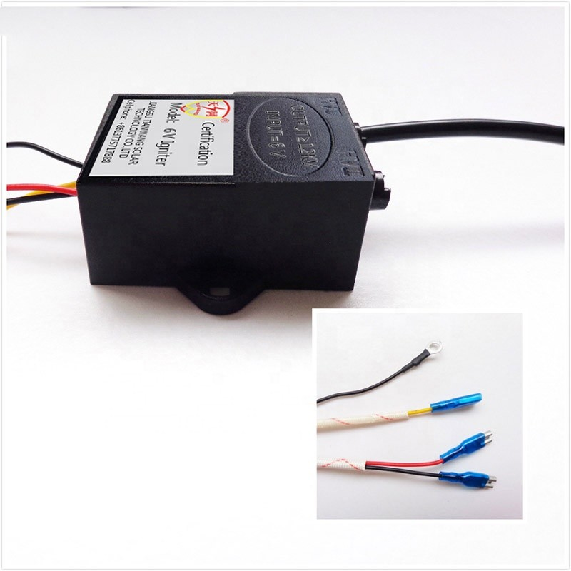 6V DC Cheap Electrical Ignitor; pulse igniter for the flame