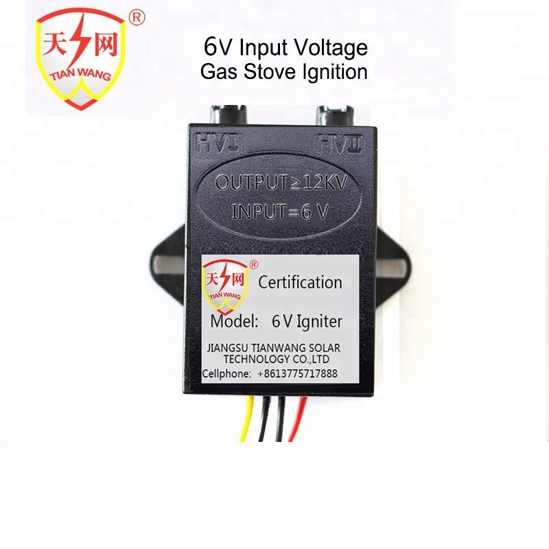 6V Battery Operated Gas Fireplace Electronic Ignition Electric Oven Parts