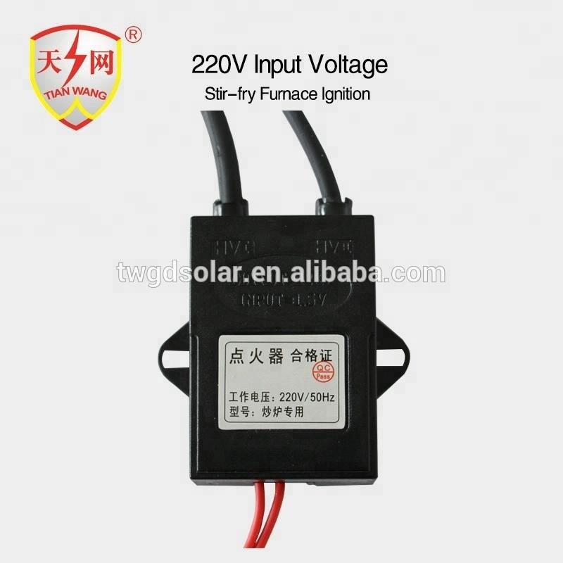 220V input electric pulse gas burner/ furnace igniter