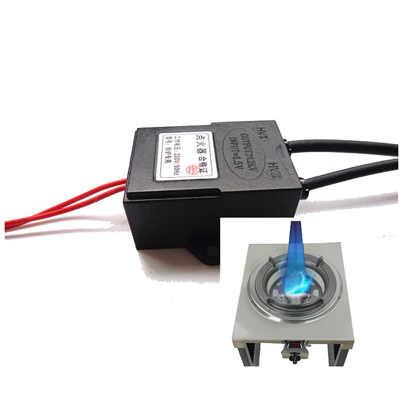 220V Input Electronic spark ignition with battery for gas burner/oven/stove