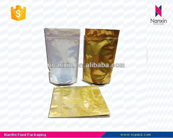 ziplock stand up foil pouch coffee bag plastic bag